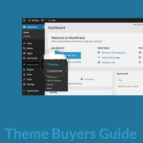 Wordpress Theme Buyers Guide