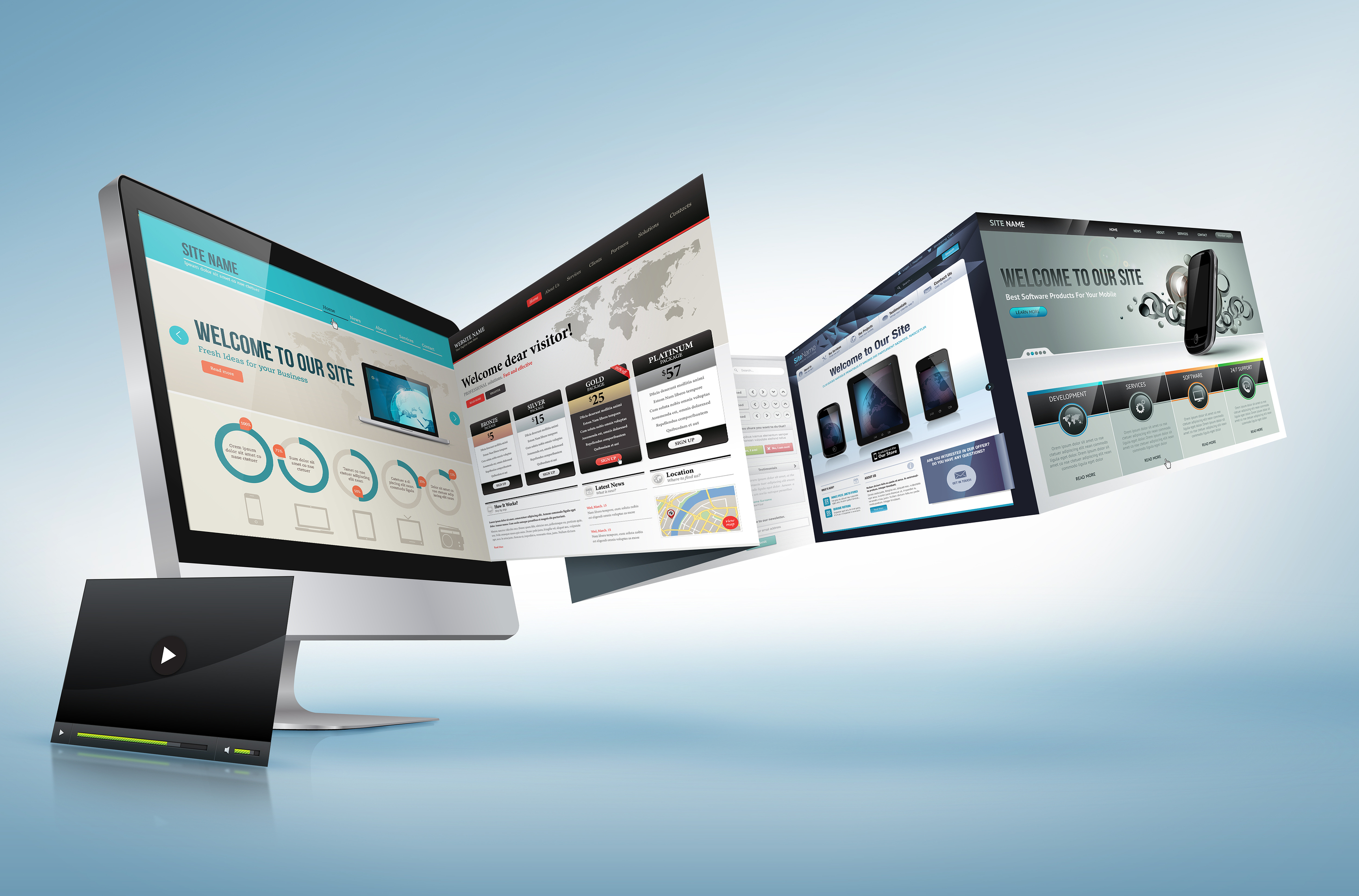 white label website design services dorset